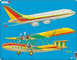 Výukové puzzle Letecká doprava