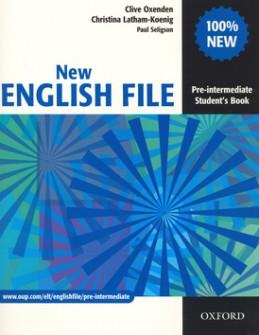 New English file Pre-intermediate Studenťs Book - Clive Oxenden; Christina Latham-Koenig