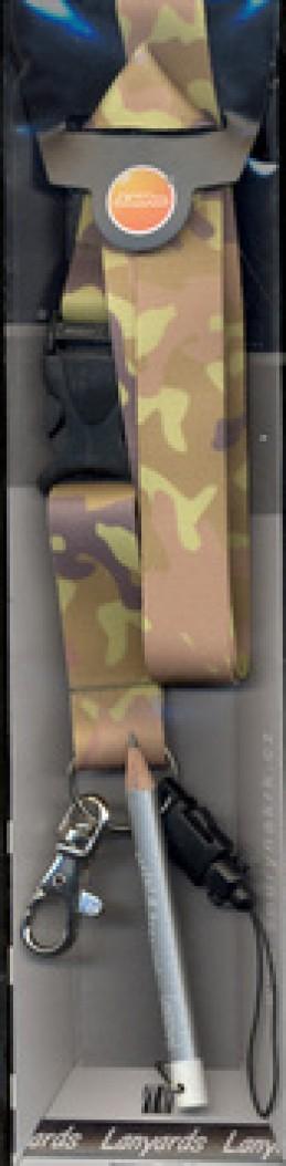 Šňůra na krk Maskáč - LY 001