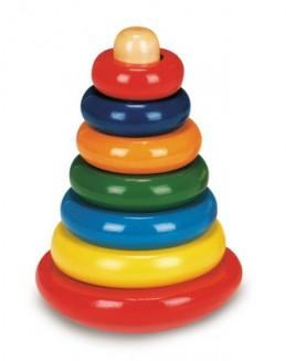 Skládací pyramida barevná - káča