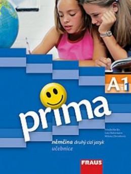 Prima A1/díl 1 Němčina druhý cizí jazyk učebnice - Jin Friederike; Lutz Rohrmann; Milena Zbranková