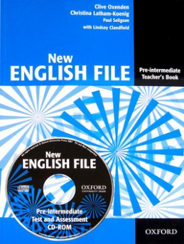 New English File Pre-intermediate Teacher's book + CD-ROM - Clive Oxenden; Paul Seligson