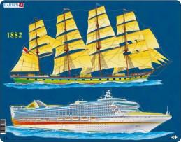 Výukové puzzle Lodní doprava