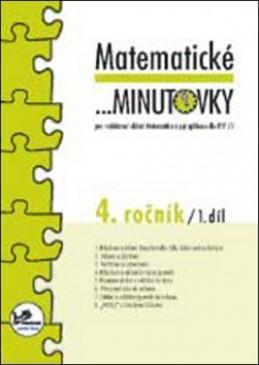 Matematické minutovky 4. ročník / 1. díl - Hana Mikulenková