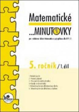 Matematické minutovky 5. ročník / 1. díl - Josef Molnár