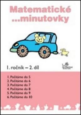 Matematické minutovky 1. ročník / 2. díl - Josef Molnár