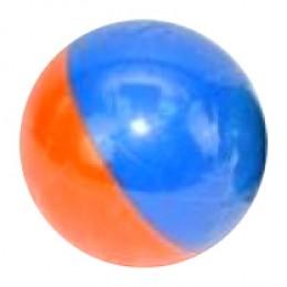 Chameleon fotbalový míč 10 cm - modro oranžový