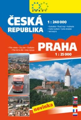 Autoatlas Česká republika Praha