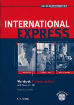 New International Expres Pre-intermediate Workbook + Student's Workbook CD pack