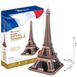 3D Puzzle Eiffelova věž, 82 dílků