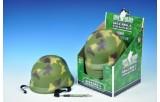 Helma vojenská plast 22cm 12ks v boxu