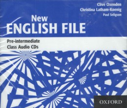 New English File Pre-Intermediate Class Audio CDs