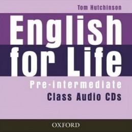 English for life Pre- intermediate Class audio CDs