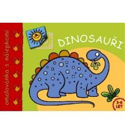 Dinosauři Omalovánka s nálepkami
