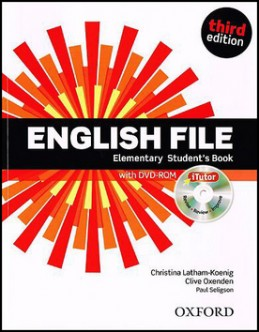 English File Elementary Student´s Book + iTutor DVD-ROM - Christina Latham-Koenig; Clive Oxenden; Paul Selingson