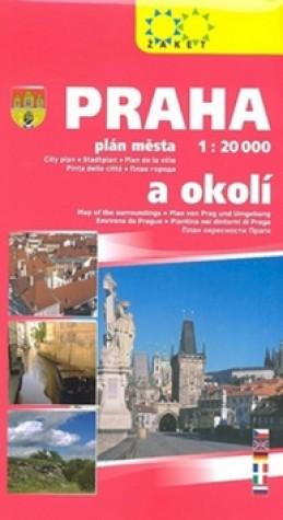 Praha a okolí 1:20T/1:150T