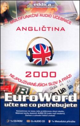 CD Euroword Angličtina 2000 nejpoužívanějších slov