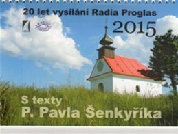 S texty P. Pavla Šenkyříka - stolní kalendář 2015