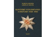 Slovenské vyznamenania a odznaky 1938 - 1945