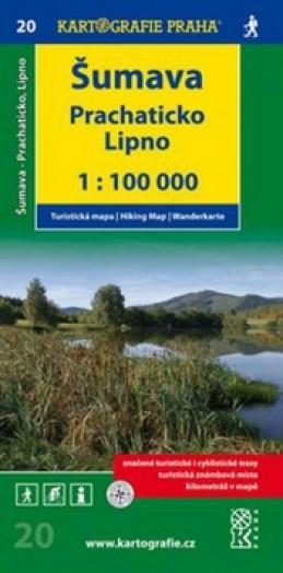 Šumava Prachaticko Lipno 1:100 000