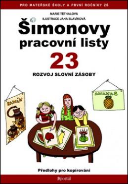 Šimonovy pracovní listy 23 - Jana Těthalová