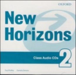 New Horizons 2 Class Audio CDs - Paul Radley; Daniela Simons