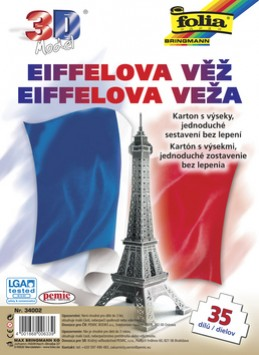 3D model Eiffelova věž