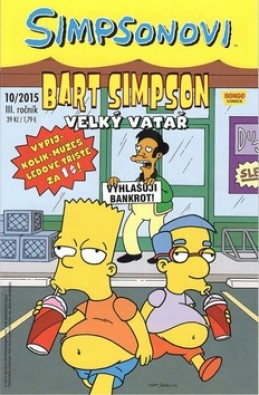 Bart Simpson Velký vatař