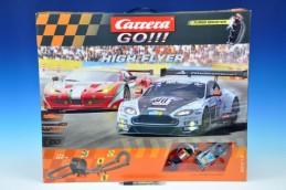 Autodráha Carrera GO!!! High Flyer 7,4m v krabici - Rock David