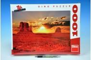Puzzle Monument Valley, Arizona 66x47cm 1000 dílků v krabici