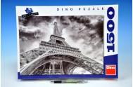 Puzzle Mračna nad Eiffelovkou 84x60cm 1500 dílků v krabici