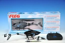 Vrtulník Fleg RC plast 32cm v krabici - Rock David