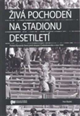 Živá pochodeň na Stadionu Desetiletí - Petr Blažek
