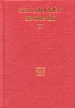 Masarykův sborník X.