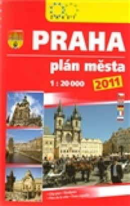 Praha. Plán města, 1:20 000