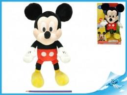 Mickey Mouse plyš 33cm na baterie 3xAG13 se zvukem v krabici od 18 měsíců - Rock David