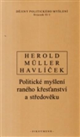 Dějiny politického myšlení II/1 - I. Müller