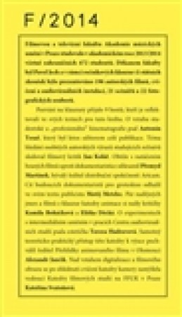 Klauzury FAMU 2014 - Antonín Tesař