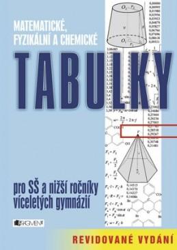 Matematické, fyzikální a chemické tabulky – revidované vyd. - Zdeněk Vošický, Bohumír Kotlík, Vladimír Lank, autorů kolektiv, Růžičková Květoslava