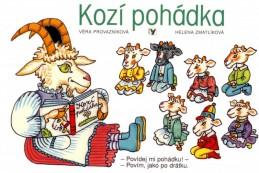 Kozí pohádka - Helena Zmatlíková, Věra Provazníková