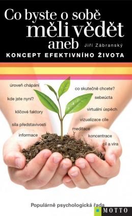 Co byste o sobě měli vědět aneb Koncept efektivního života - Jiří Zábranský
