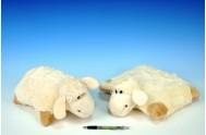 Ovečka polštářek plyš 30cm od 0 měsíců