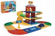 Kid cars 3D parkoviště 2 patra plast 4,6 m Wader v krabici