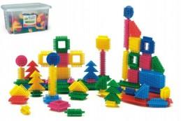 Wader stavebnice ježci 500dílků plast v plastové krabici - Rock David