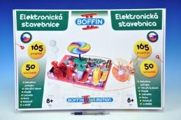 Stavebnice Boffin II. Motion 165 elektronická 165 projektů na baterie 50ks v krabici - Rock David