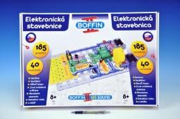 Stavebnice Boffin II. 185 elektronická 185 projektů na baterie 40ks v krabici - Rock David
