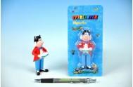 Postavička/Figurka Myšpulín Čtyřlístek plast 9cm na kartě