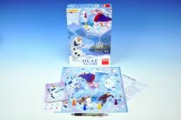 Ledové království/Frozen Olaf na ledě společenská hra v krabici 20x29x6cm - Rock David