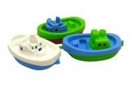 Loď/člun do vody 3ks plast 15cm v sáčku 3ks od 12 měsíců