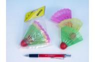(C) Badmintonové míčky plast 3ks v sáčku
